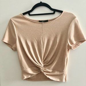 Peach Forever 21 Crop Top - NEVER WORN